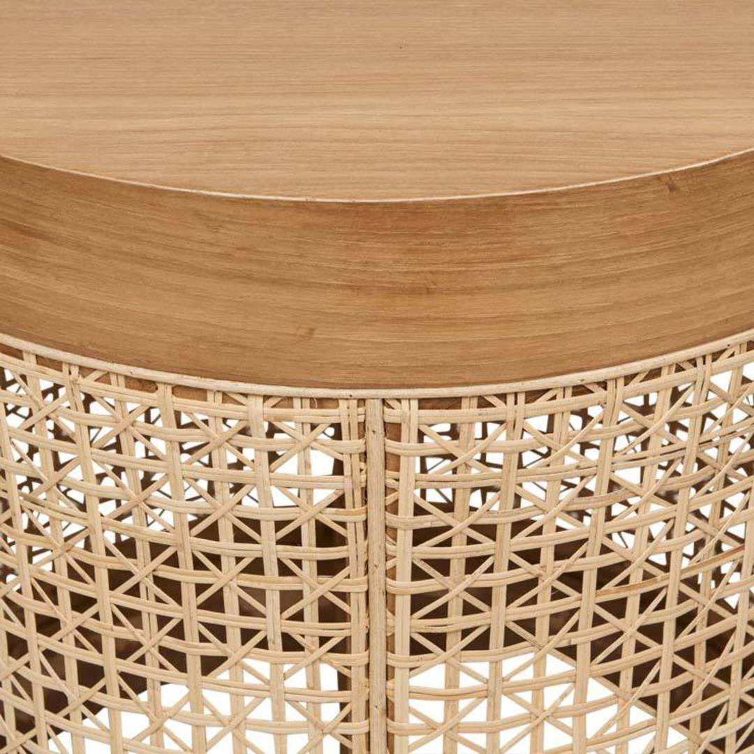 Willow Woven Side Table image 3