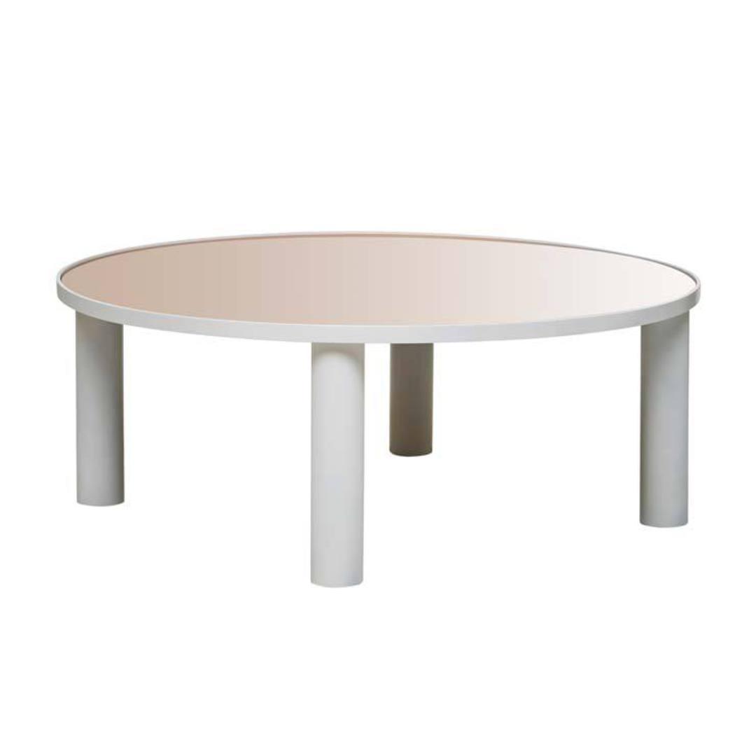 Amara Disc Mirror Coffee Table image 5