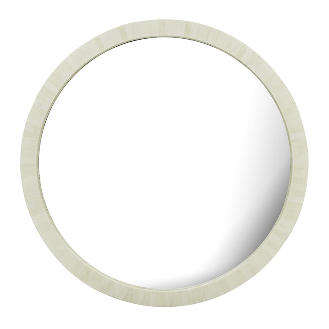 Taj Round Bone Mirror image 7