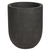 Click to swap image: <strong>Cancun Round Planter Sml-Black - RRP-$731</strong></br>Dimensions: 500 Dia x H610mm</br>Shipped: Assembled - 0.183m3</br>Case Colour - Black</br>Case Material - Powder Stone</br>Product Finish - PU Lacquer Protective Coating (See Product Care for more Information)