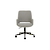 Click to swap image: <strong>Quentin Office Chair-Bk/GrySpc - RRP-$932</strong></br>Dimensions: W620 x D620 x H900-1020mm</br>Shipped: K/D - Requires Assembly on site - 0.245m3</br>Arm Height - 620-740mm (adjustable)</br>Base Colour - Black</br>Base Construction - Castors & Gas Lift</br>Base Finish - Matt</br>Base Finish - Powdercoated</br>Base Material - Metal</br>Seat Height - 470-590mm (adjustable)</br>Upholstery Colour - Grey Speckle</br>Upholstery Material - Fabric (100% Polyester)