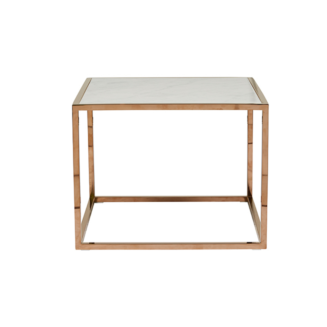 Elle Cube Marble Side Table image 11