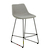Click to swap image: <strong>Arnold Barstool - Bk/Grey Spec - RRP-$640</strong></br>Dimensions: W460 x D530 x H900mm</br>Shipped: K/D - Requires Assembly on site - 0.109m3</br>Barstool Stackable - No</br>Leg Colour - Black</br>Leg Finish - Matt Powdercoated</br>Leg Material - Stainless Steel</br>Seat Colour - Grey Speckle</br>Seat Height - 650mm</br>Seat Material - Fabric (100% Polyester)