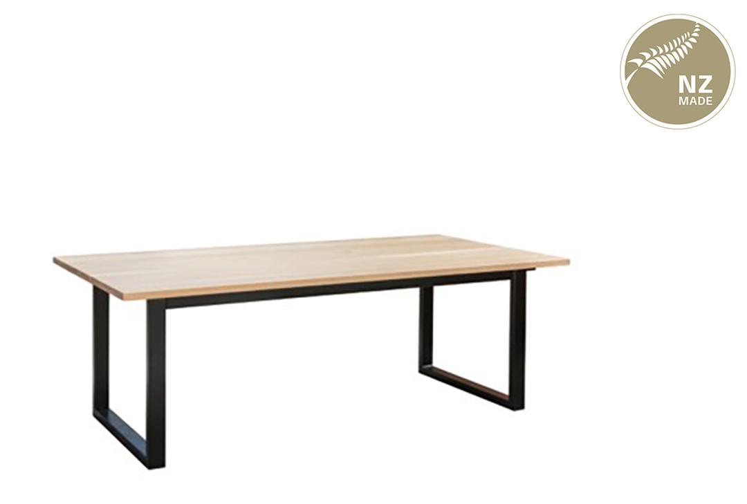 Thorndon Square Base 2000mm Table & Barleaner image 0
