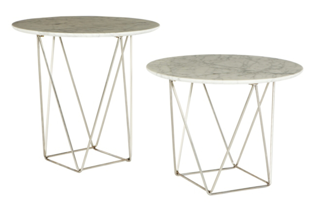 Como Side Table Large Marble image 0