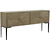 Click to swap image: <strong>Finsbury Geo Buffet-Grey Sand - RRP-$4280</strong></br>Dimensions: W1800 x D400 x H850mm</br>Shipped: Assembled (K/D Legs) - 0.4m3</br>Additional Dimensions Dimensions - W880mm x D340mm each compartment</br>Case Colour - Grey Sand</br>Case Material - Mango Wood</br>Door Configuration - 4</br>Handle Material - Metal</br>Leg Colour - Pewter</br>Leg Height - 400mm</br>Leg Material - Iron</br>Shelf Height - 200mm (top and bottom)