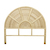 Click to swap image: <strong>Avery Arch Queen Bed Head-Natu - RRP-$1050</strong></br>Dimensions: W1560 x D35 x H1400mm</br>Shipped: Assembled - 0.182m3</br>Frame Colour - Natural</br>Frame Material - Rattan</br>Leg Height - 580mm