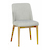 Click to swap image: <strong>Rosie Timber Leg Ch-Cool Grey - RRP-$615</strong></br>Dimensions: W440 x D595 x H830mm</br>Shipped: Assembled - 0.183m3</br>Chair Max. Weight - 120kg</br>Chair Stackable - No</br>Frame Material - Metal</br>Frame Weight - 6kg</br>Leg Colour - Natural</br>Leg Material - Solid Ash</br>Seat Configuration - Seat Height 480mm</br>Upholstery Colour - Cool Grey</br>Upholstery Material - Fabric (97% Polyester, 3% Linen)