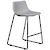Click to swap image: <strong>Levi Barstool-Bk/Pearl Grey - RRP-$626</strong></br>Dimensions: W490 x D540 x H870mm</br>Shipped: Assembled - 0.18m3</br>Barstool Max. Weight - 225kg</br>Barstool Stackable - No</br>Leg Colour - Black</br>Leg Finish - Powdercoated</br>Leg Material - Stainless Steel</br>Seat Height - 660mm</br>Upholstery Colour - Pearl Grey</br>Upholstery Material - Fabric (100% Polyester)