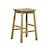 Click to swap image: <strong>Sketch Root Barstool-Light Oak - RRP-$POA</strong></br>Dimensions: W450 x D400 x H655mm</br>Shipped: Assembled - 0.14m3</br>Leg Colour - Light Oak</br>Leg Material - Solid Oak</br>Seat Colour - Light Oak</br>Seat Material - Solid Oak