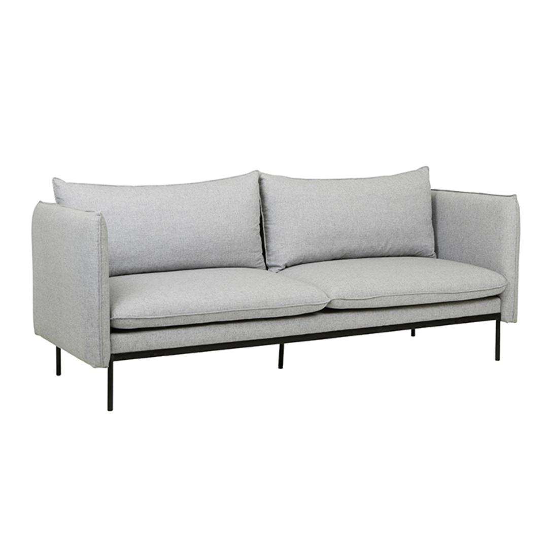 Vittoria Curve 3 Seater Sofa image 2