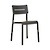 Click to swap image: <strong>Outo Dining Chair - Black - RRP-$308</strong></br>Dimensions: W475 x D485 x H825mm</br>Shipped: Assembled - 0.068m3</br>Chair Stackable - Yes</br>Chair Stackable - Yes</br>Chair Weight - 3.9kg</br>Product Max. Weight - 120kg</br>Seat Height - 480mm</br>Seat & Back Colour - Black</br>Seat & Back Finish - UV Resistant</br>Seat & Back Material - Polypropylene