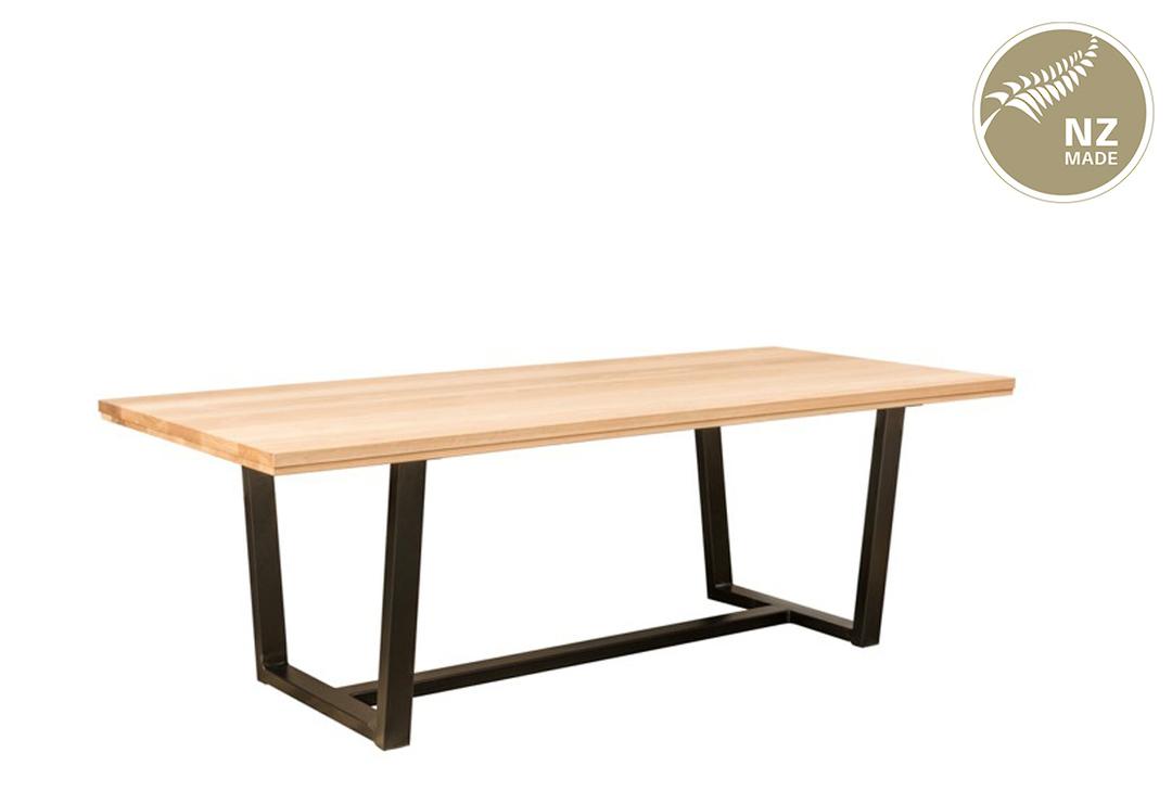 Thorndon Tapered  Base 2200 x 1000 Table  & Barleaner image 0