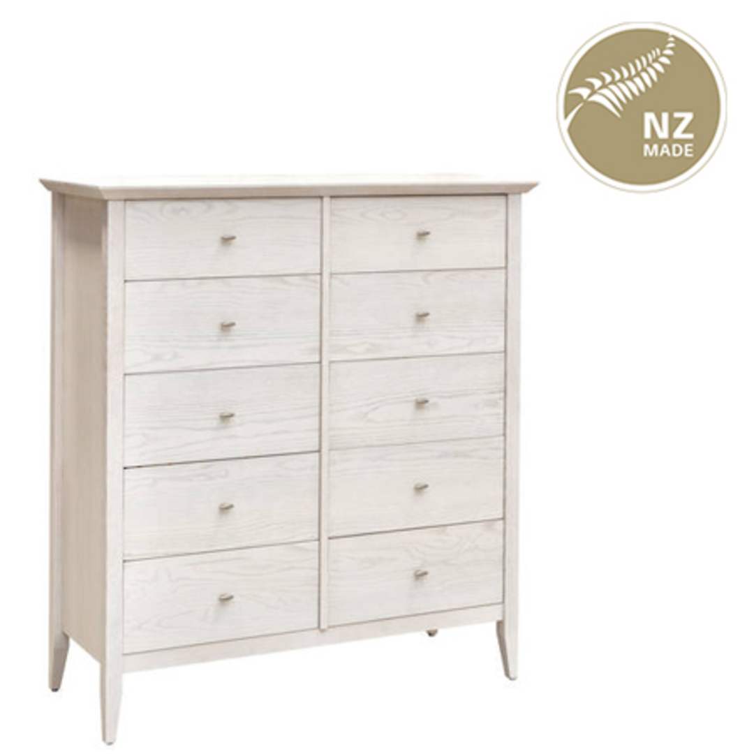 Aria 10 Drawer Twin Chest image 0
