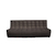 Click to swap image: <strong>Ethnicraft Slouch 3Str-Dk Grey - RRP-$POA</strong></br>Dimensions: W2100 x D910 x H760mm</br>Shipped: Assembled - 1.539m3</br>Cushion Construction - Sofa Cushion Profile - Medium</br>Filling Material - Foam Fill</br>Product Configuration - Joining Brackets Included</br>Seat Dimensions - 550mm Seat Depth</br>Seat Height - 430mm Seat Height</br>Upholstery Colour - Dark Grey</br>Upholstery Composition - 84% Polyester, 16% Acrylic