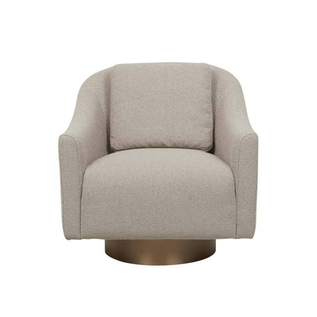 Kennedy Curve Swivel Occasional Chair image 17