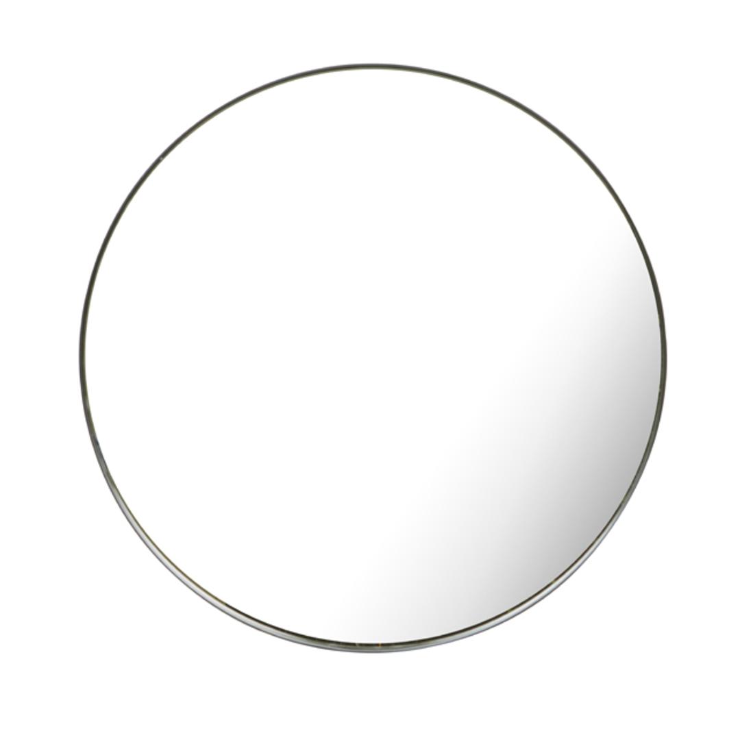 Elle Round 80cm Mirror image 0