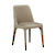 Click to swap image: <strong>Penny Dining Chair – Beige Velvet - RRP-$609</strong></br>Dimensions: W470 x D525 x H830mm</br>Shipped: Assembled - 0.15m3</br>Chair Height - 470mm</br>Chair Max. Weight - 120kg</br>Chair Stackable - No</br>Upholstery Colour - Beige Velvet</br>Upholstery Material - Fabric (100% Polyester)