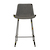 Click to swap image: <strong>Cleo Sleigh Barstool-Bk/WvChar - RRP-$582</strong></br>Dimensions: W490 x D530 x H900mm</br>Shipped: K/D - Requires Assembly on site - 0.101m3</br>Barstool Max. Weight - 100kg</br>Base Finish - Matt Black Powder Coated</br>Base Material - Metal</br>Chair Stackable - No</br>Crossbar Height - 230mm</br>Seat Configuration - 650mm Seat Height</br>Upholstery Colour - Woven Charcoal</br>Upholstery Material - Fabric (100% Polyester)