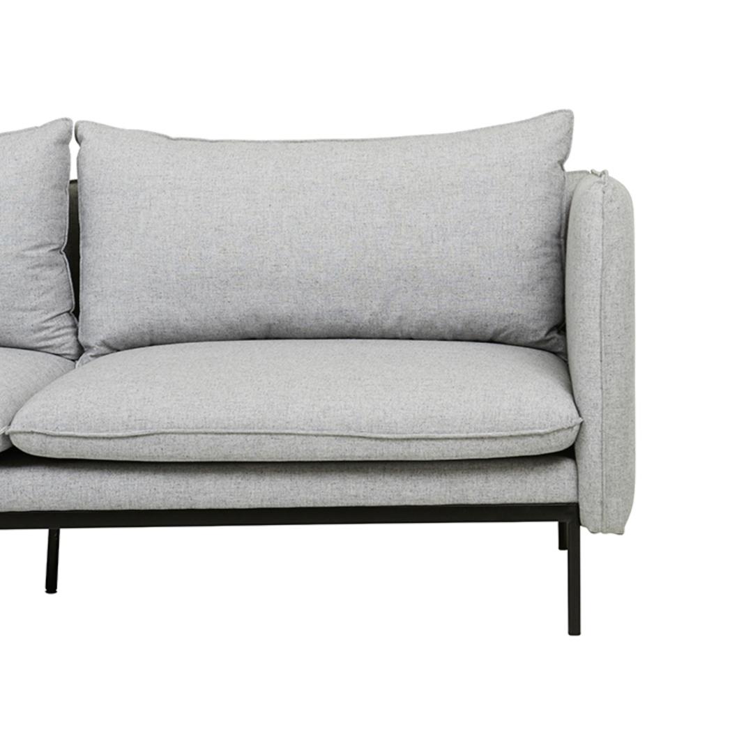 Vittoria Curve 3 Seater Sofa image 6