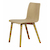 Click to swap image: <strong>Sketch Tami Chair-Light Oak - RRP-$POA</strong></br>Dimensions: W455 x D550 x H795mm</br>Shipped: Assembled - 0.15m3</br>Chair Max. Weight - 160kg</br>Chair Stackable - No</br>Leg Material - Solid Oak</br>Seat Colour - Light Oak</br>Seat Finish - PU Lacquer</br>Seat Height - 450mm</br>Seat Material - Ply Wood