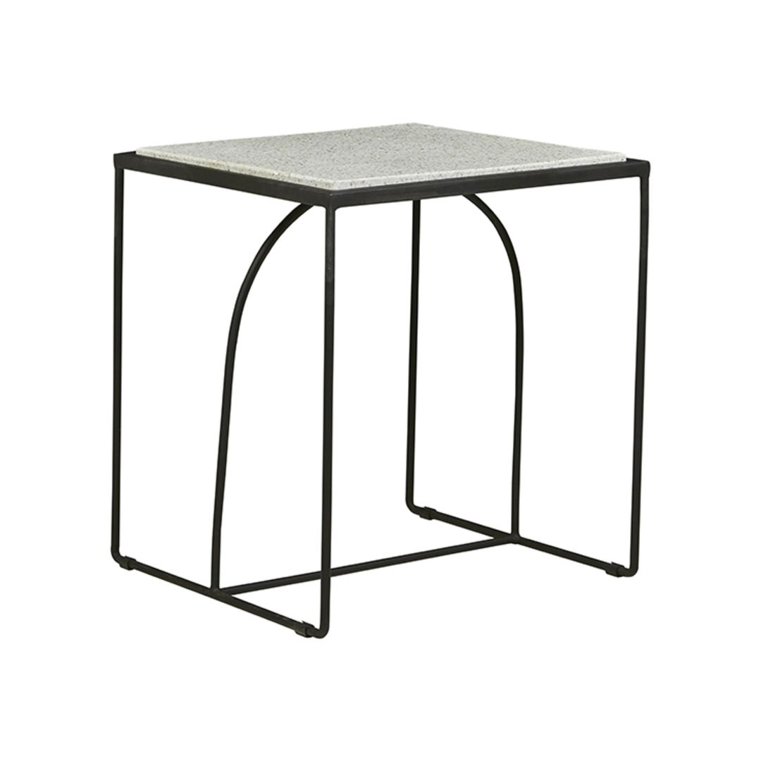Brigette Arch Side Table-Black image 0
