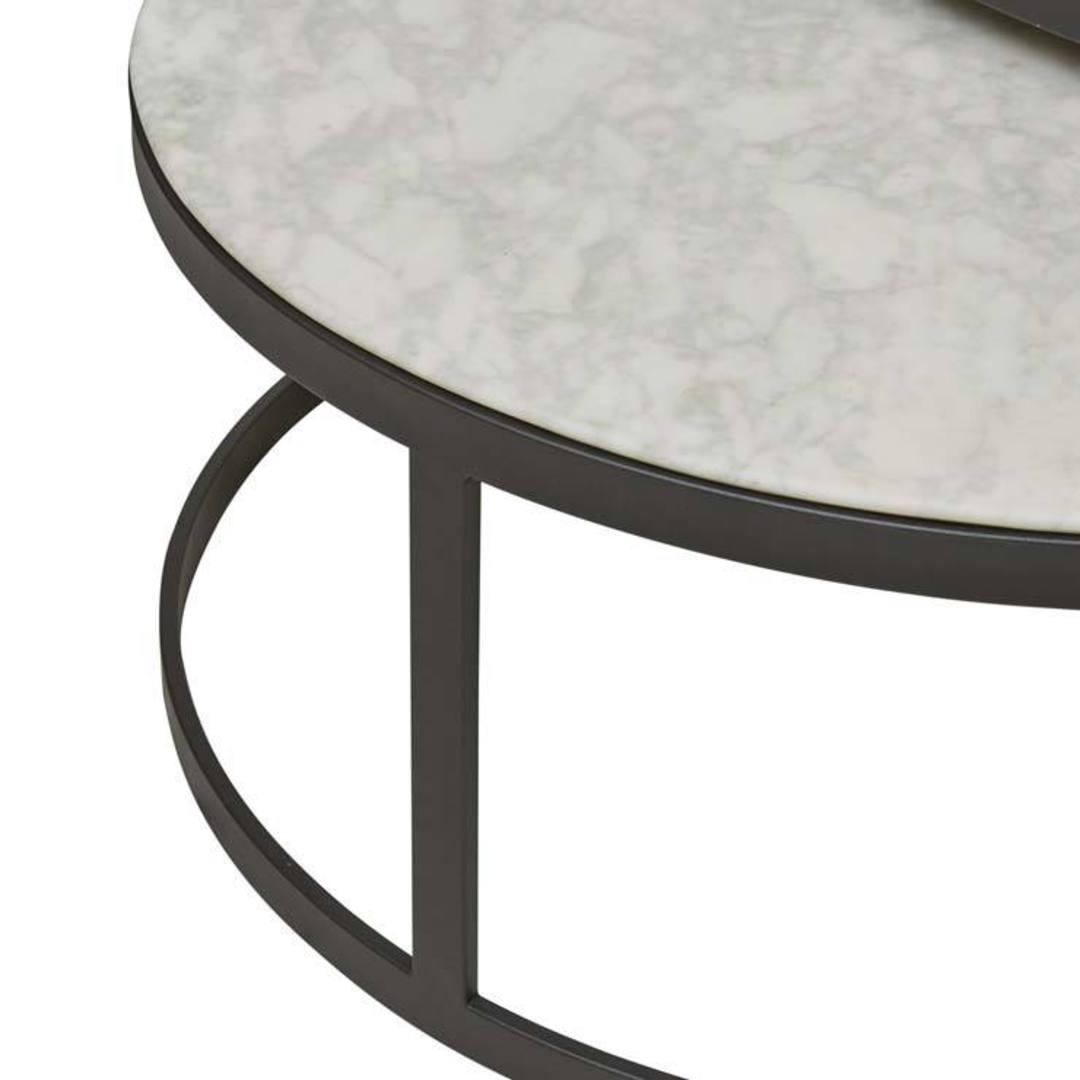 Elle Round Nest Flat Coffee Table image 3