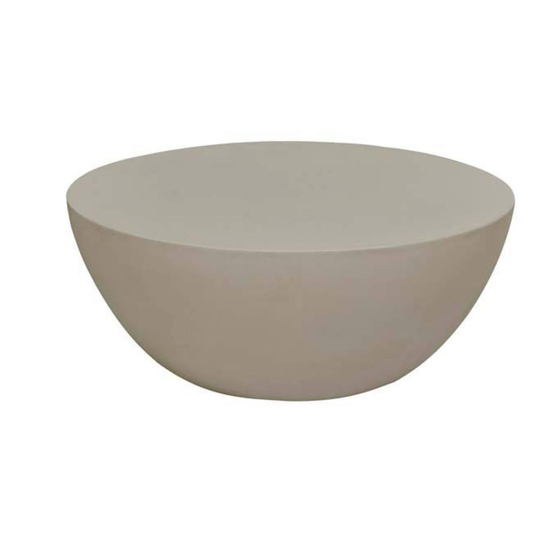 Ossa Dome Concrete Coffee Table image 2