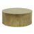 Click to swap image: <strong>Taj Round CoffeeTbl-Ant Brass - RRP-$2278</strong></br>Dimensions: 900 Dia x H360mm</br>Shipped: Assembled - 0.45m3</br>Case Finish - Antique Brass</br>Case Material - White Sheet Metal</br>Case Weight - 17.65kg