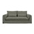 Click to swap image: <strong>Orlando Seamed 3Str- Sea Moss - RRP-$4830</strong></br>Dimensions: W2200 x D990 x H870mm</br>Shipped: Assembled - 1.455m3</br>Arm Height - 650mm</br>Cushion Construction - Sofa Cushion Profile - Soft</br>Filling Material - Feather & Fiber Fill</br>Seat Height - 450mm</br>Upholstery Colour - Sea Moss</br>Upholstery Composition - Fabric (5% Acrylic, 15% Linen, 15% Cotton, 65% Polyester)</br>Upholstery Construction - Removable Slip Cover