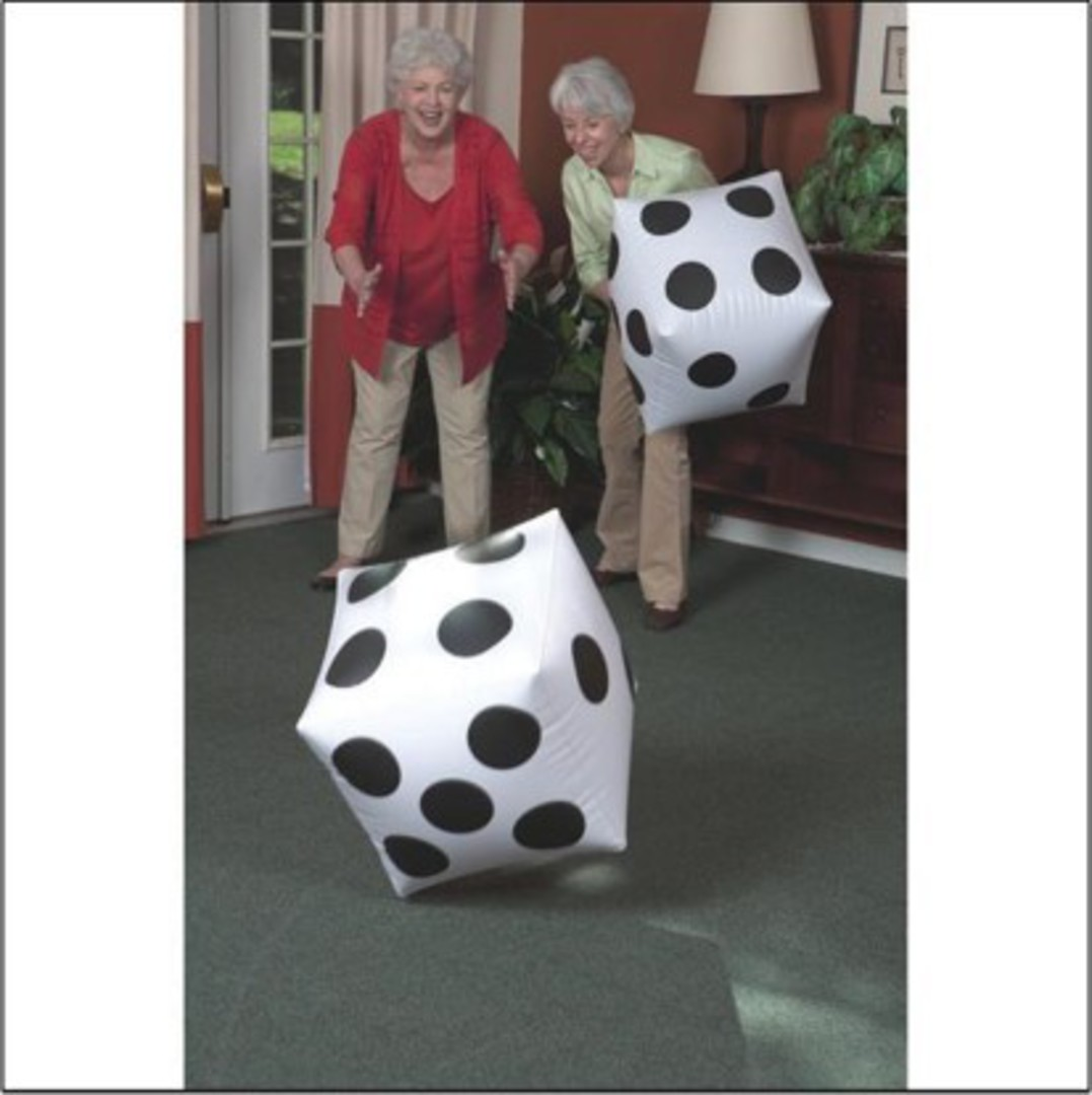 Large Inflatable Dice image 0