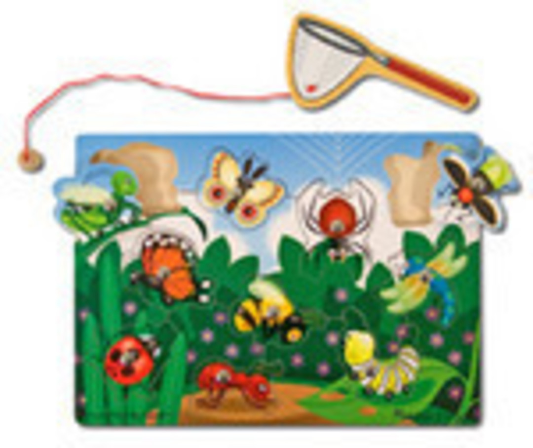 Magnetic Bug Catching Game image 0