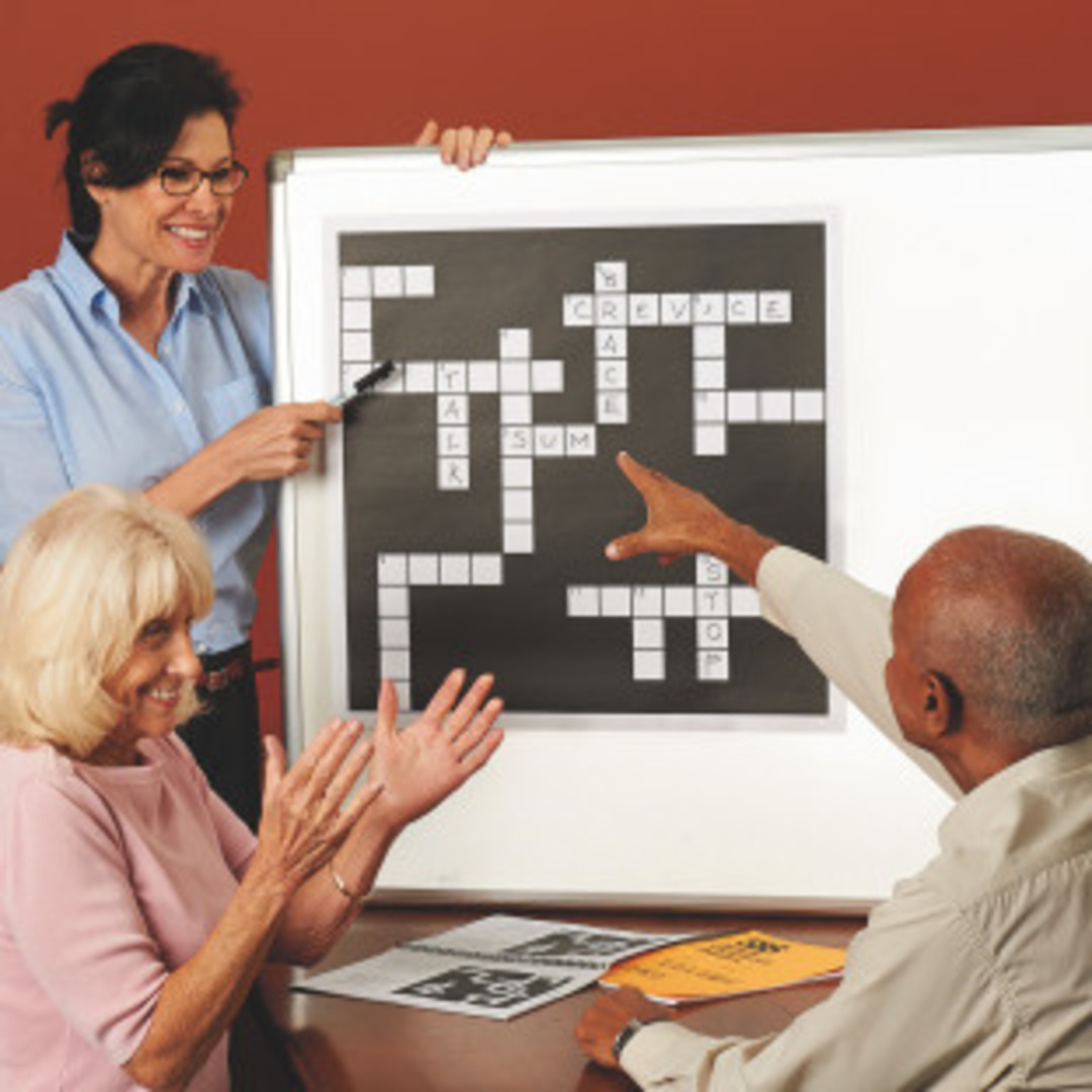 Simple Giant Crossword Puzzle Set Volume 1 image 0