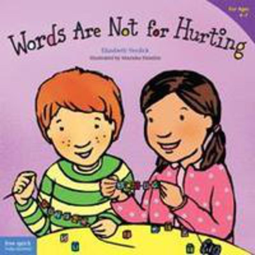 Words Are Not for Hurting (Soft Cover) image 0