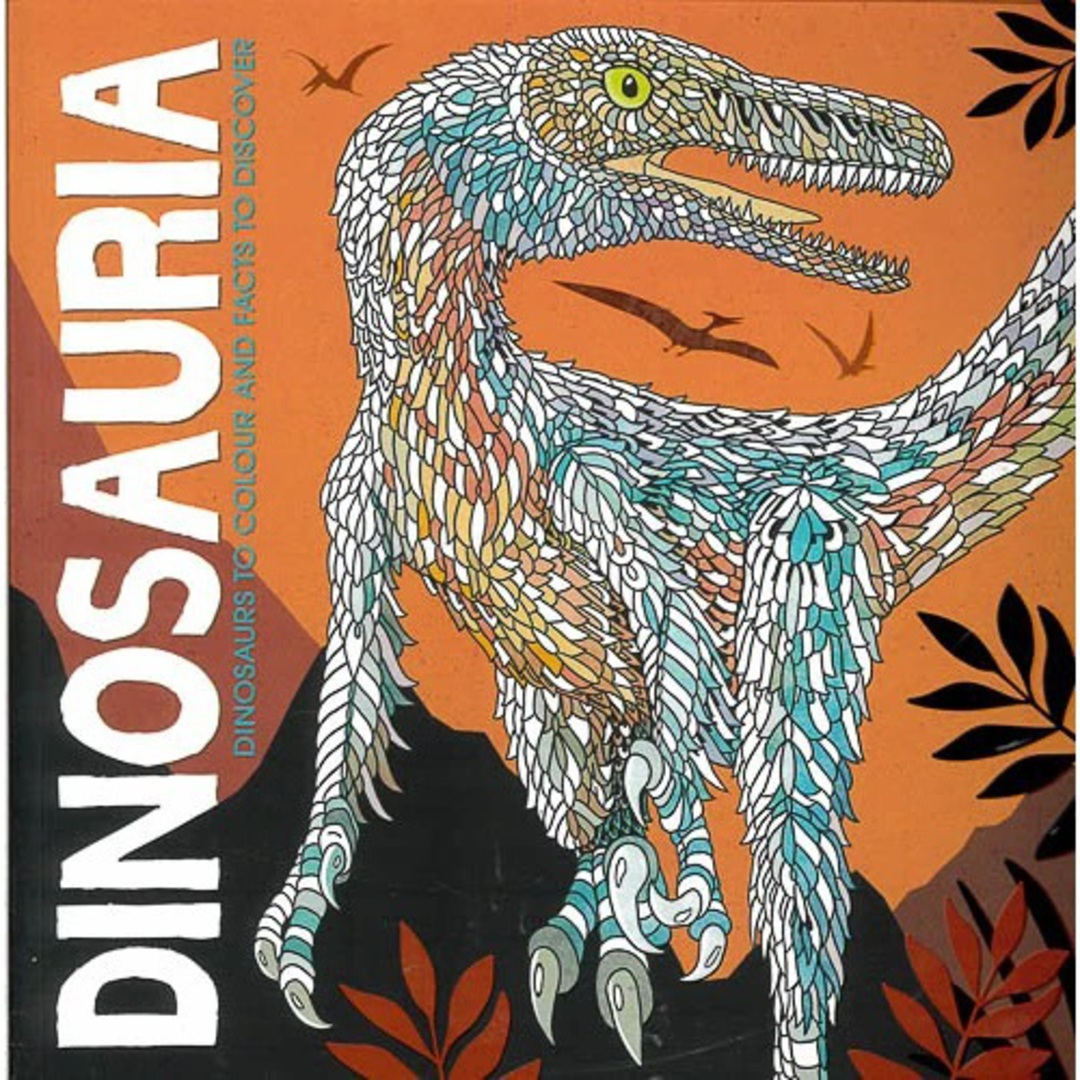 Dinosauria: Dinosaurs to Colour and Facts to Discover image 0