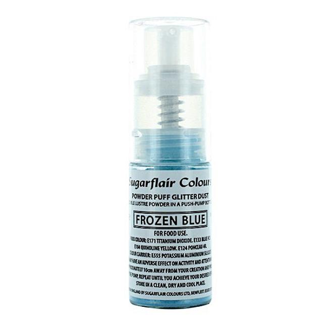 Sugarflair Edible Frozen Blue Lustre (Pump) 10gm image 0