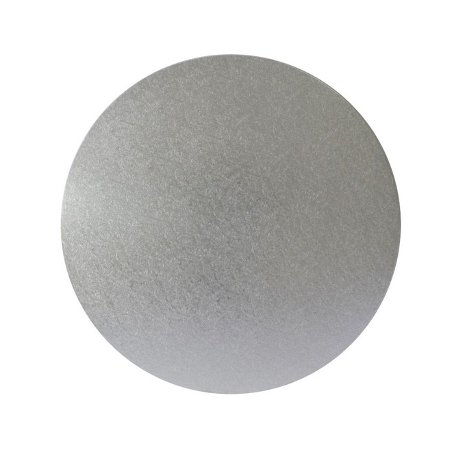 "Round 10"" MDF Board, Silver image 0"