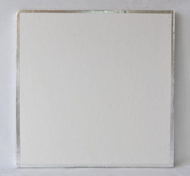 "Polystyrene Cake Board, Square, Taped Edge, 6"" (150mm) image 0"