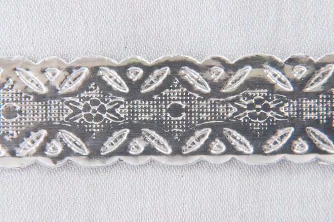 Cake Band Silver 12mm (50m) image 0