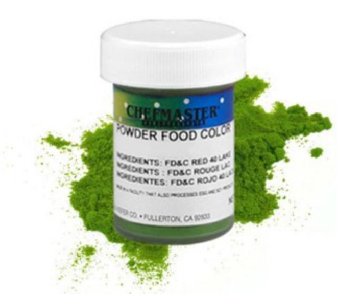 Chefmaster Powder Colour Green 3g image 0