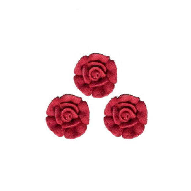 Icing Red Roses 15mm, packet of 24 image 0