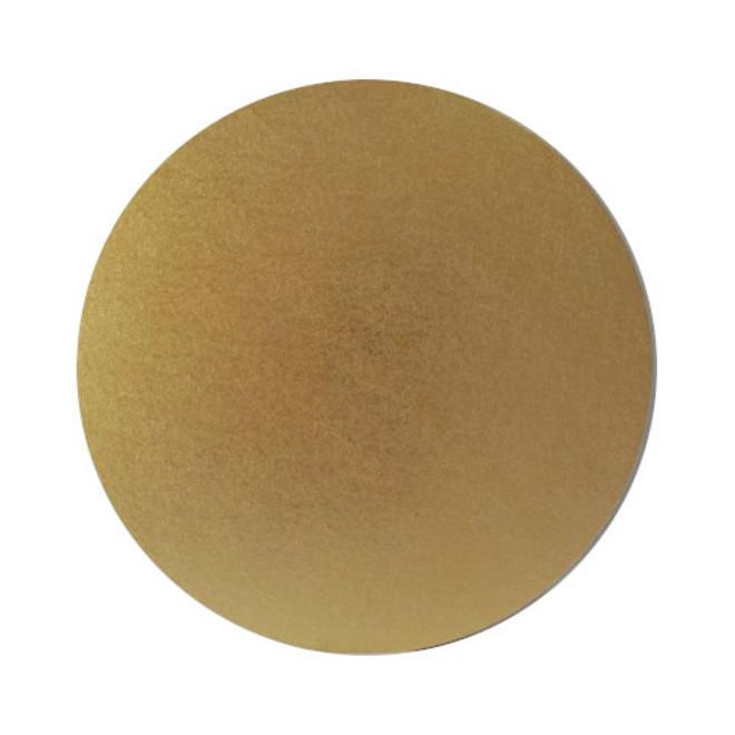 "Round 6"" MDF Board, Gold image 0"