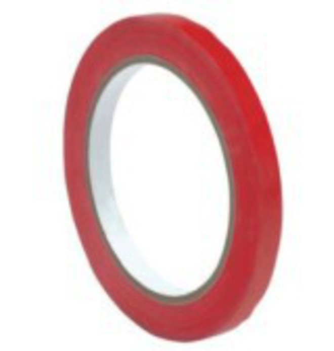 9mm Red tape for Bag Neck Sealer image 0