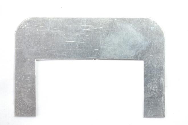 Metal Pie Warmer Label Holder - 90mm length image 0