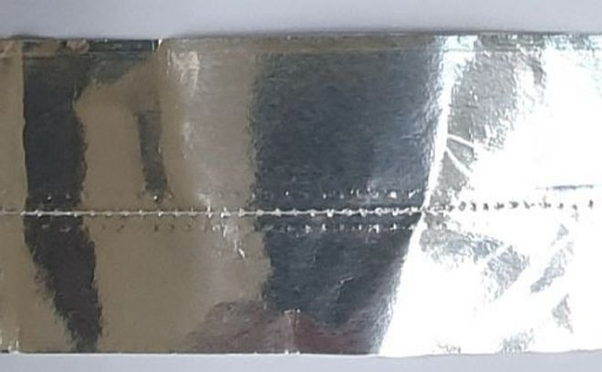 Cake Band Plain Silver 63mm (7m) - SOLD OUT image 0