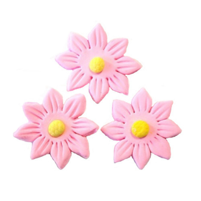 Icing Pink Daisy, 35mm.  Box of 120 image 0