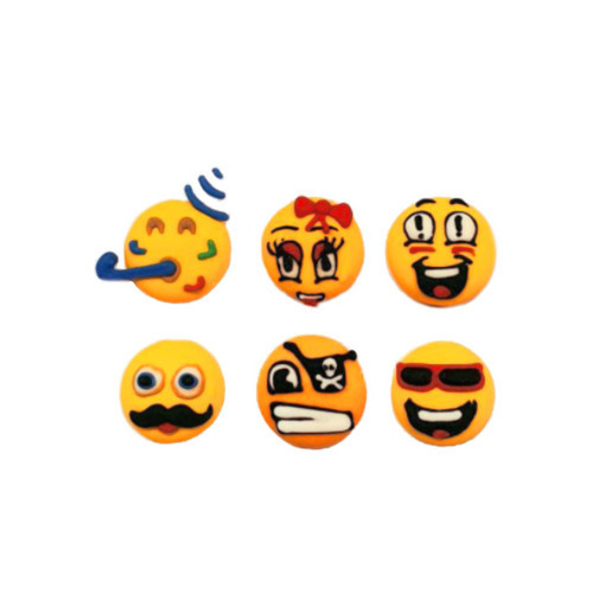 Emoji Faces - Party 20mm (30) - SOLD OUT image 0
