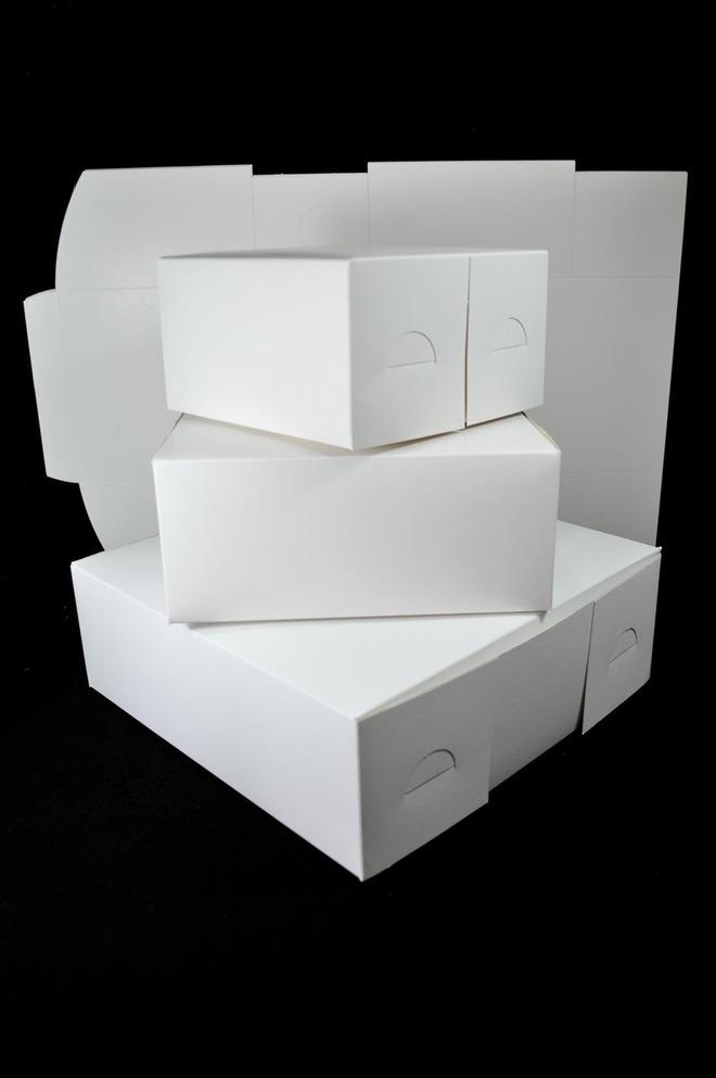 Cake boxes 10 x 10 x 5 inch, 254 x 254 x 127mm, Bundles of 100 image 0