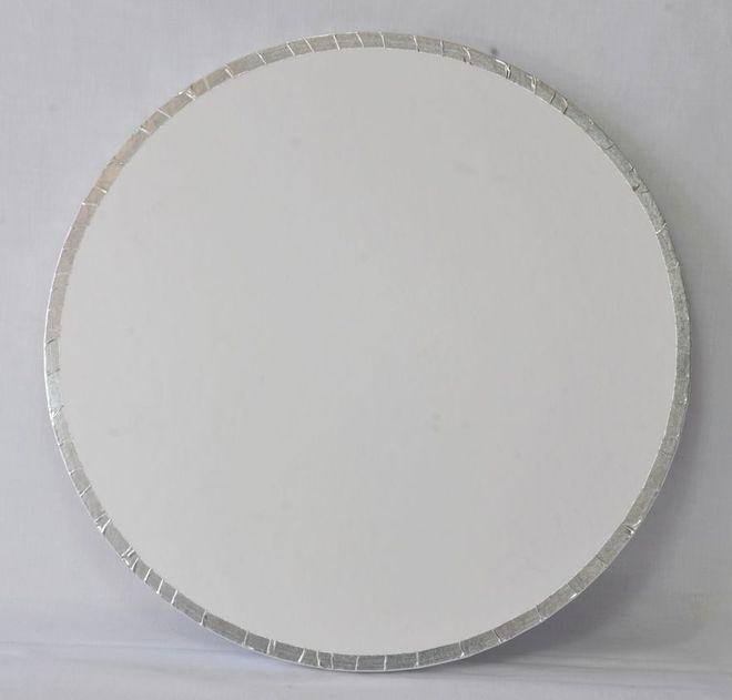 "Polystyrene Cake Board, Round, Taped Edge, 6"" (150mm) image 0"