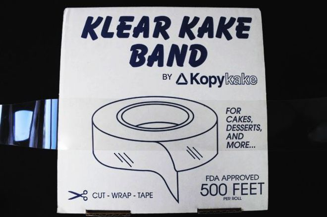 """2"""" (50mm) Clear Cake Band (152.4mtr) image 0"""